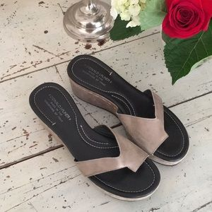 🌷Donald Pliner wedge sandals size 9.